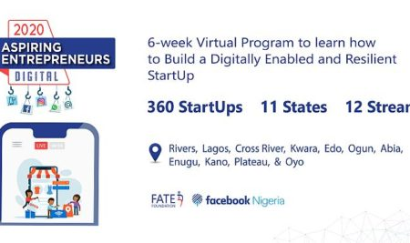 360 StartUps across 11 States: Announcing our Partnership with Facebook for the 2020 AEP: Digital Programme