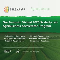 2020 ScaleUp Agribusiness